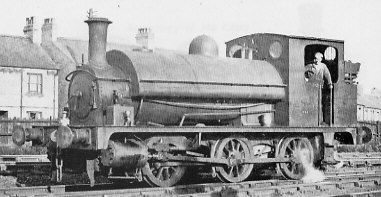 J62 No. 8201, at Wrexham in July 1948