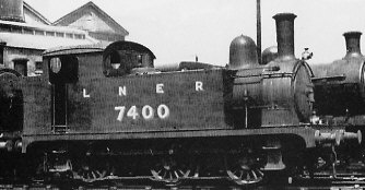 J67/1 No. 7014 shunter, at Stratford in 1925