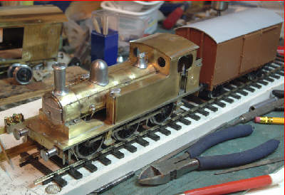 Geoff Byman's unpainted Connoisseur Models J71 kit