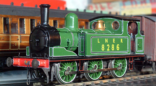 Geoff Byman's finished Connoisseur Models J71 kit