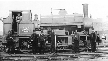 NER '44' Class No. 49 saddletank as built (M.Peirson)
