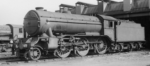 Gresley K3/3 No. 61886 at March in 1958 (PH.Groom)