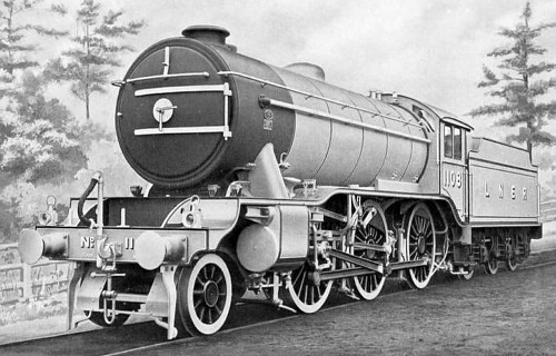 Gresley K3/5 No. 1108, Armstrong Whitworth works picture (M.Peirson)
