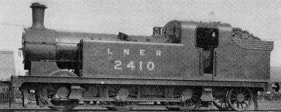 Class N13 No. 2410 at Springhead shed in about 1930