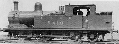 Class N5 No. 5410, ex-WMCQR, superheated with uncased Ramsbottom safety valves