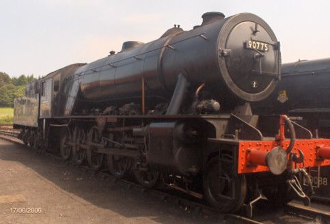Preserved WD 2-10-0 No. 90775, June 2006 (Michael Allen)