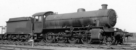 Thompson O1 No. 63752 at Annesley in 1958 (M.Peirson)