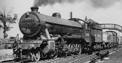 Class O2/3 No. 63958 near March in 1949