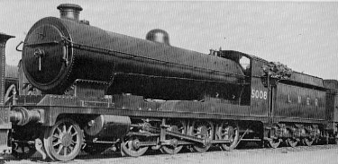 Class O4/5 No. 5008, with Diagram 15A boiler; at Doncaster in 1932