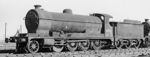 Class O4/7 No. 63616 at Colwick in 1963 (PH.Groom)