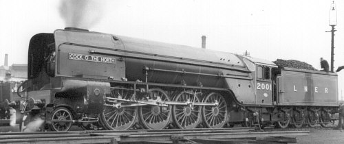 Gresley P2 Mikado, 'Cock o'the North' (D.Butler)