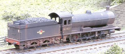 Fencehouses 2mm model of a Raven Q6 (NER Class T2) 0-8-0