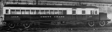 Clayton Diagram 92 Railcar No. 42 Chevy Chase at Doncaster Works in 1928