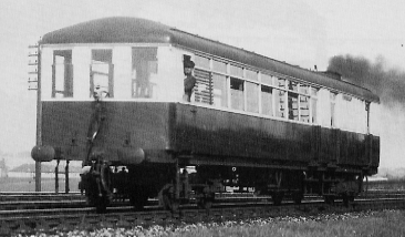 Diagram 97 Sentinel No. 39 Protector near Haymarket in 1929