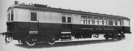AJR Sentinel Railcar No. 44 (later Diagram 209)