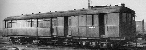 CLC Sentinel Railcar No. 602 at Gorton in 1936