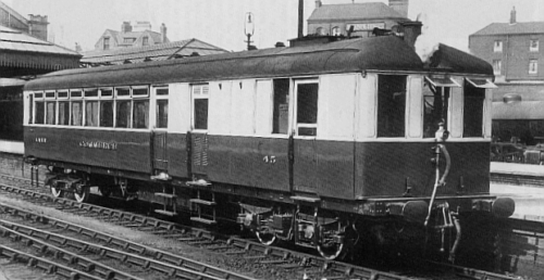 Sentinel No. 45 Commerce (Diagram 96) at Nottingham Victoria in 1929