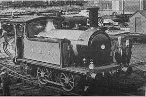 NER Y7 0-4-0T at the Middleton Railway during the early 1970s