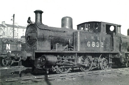 Z5 Manning Wardle 0-4-2T No. 6832 (M.Peirson)